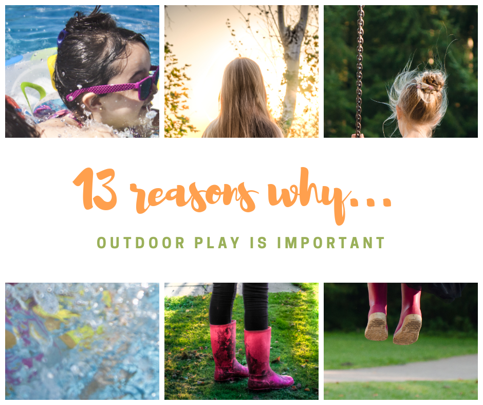 13 Reasons Why Outdoor Play is Important – Hugoplay