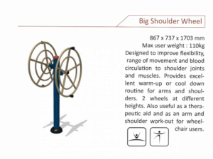 Big Shoulder Wheel