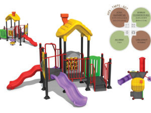 TMPS-607 Toddlers Multiplay Systems