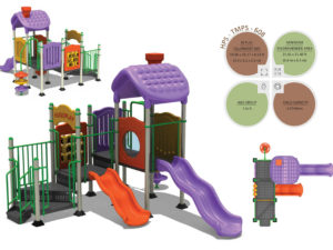 TMPS-608 Toddlers Multiplay Systems