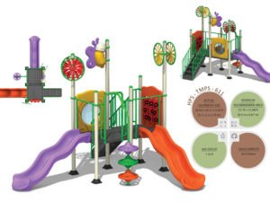 TMPS-611 Toddlers Multiplay Systems