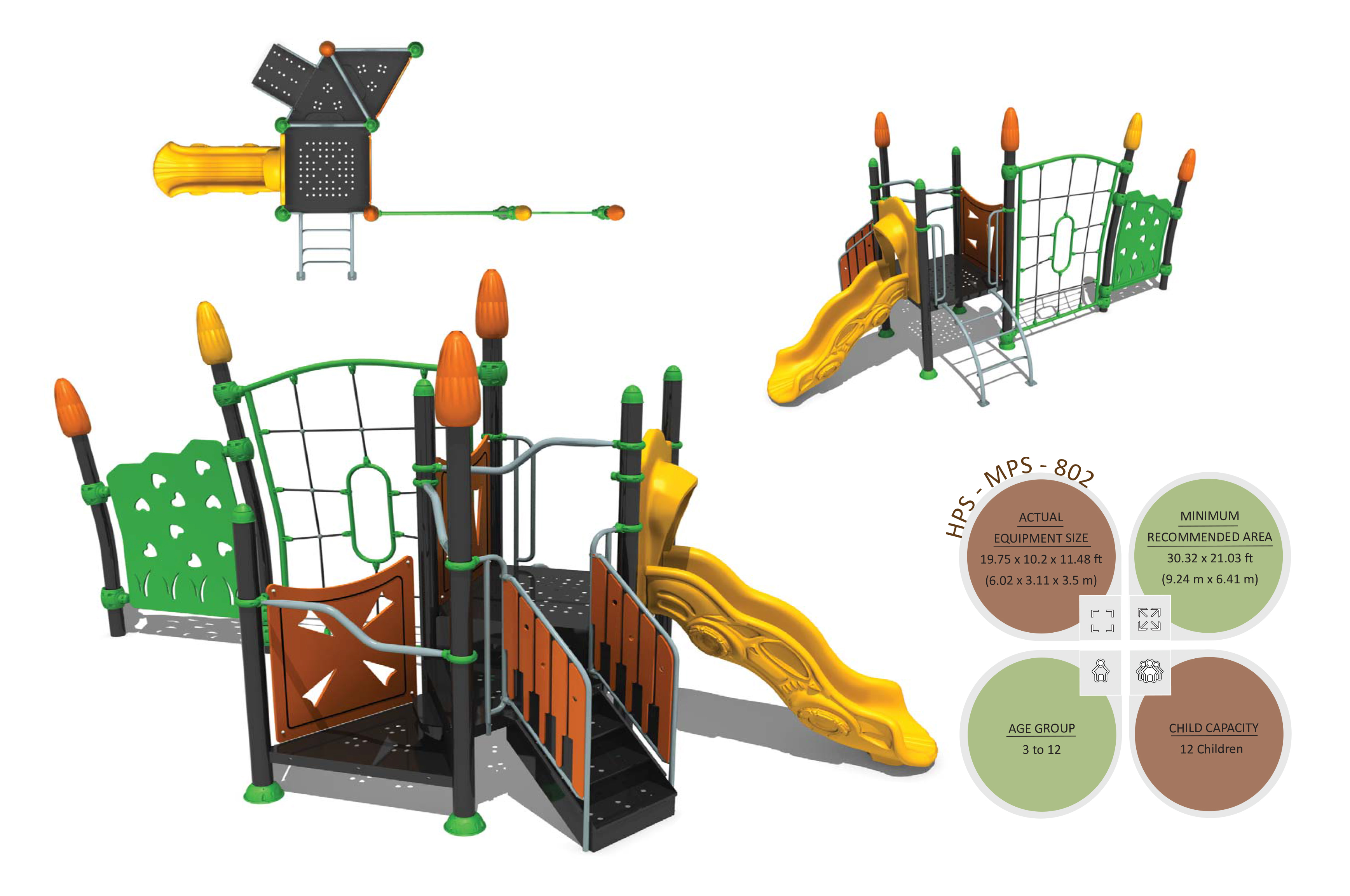 Mps 802 Multiplay Systems Outdoor Fitness Equipment